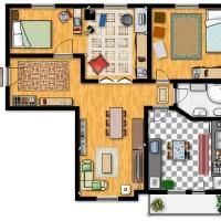 Explicar com és una casa