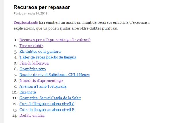 http://elblocdellenguacatalanadelcepajoanmirimir.wordpress.com/2013/05/16/recursos-per-repassar/